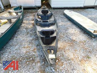 Old Town 14' Two Seater SARANAC Canoe