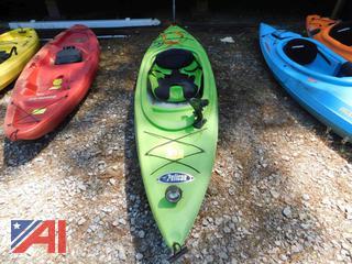 10' Green Pelican Trailblazer 100 Kayak