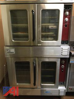 (#6) Southbend Stacked Natural Gas Convection Ovens
