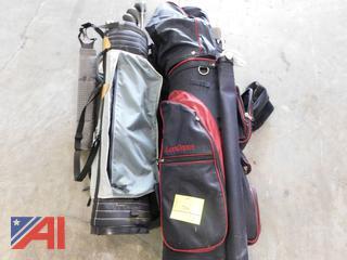 Dynafit and Dunlop Golf Clubs