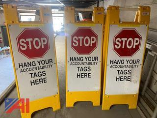 Accountability Tag Signs