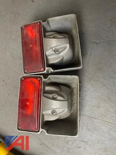 Grill Mount Siren Speakers with Lights