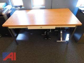 Brown Office Desk