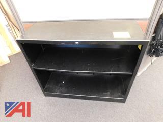 Double Shelf Metal Cabinet