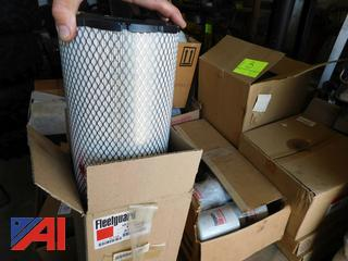 Pallet of Various Filters