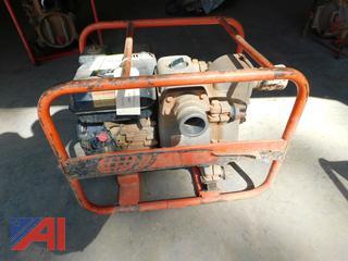 Honda GX160 Trash Pump