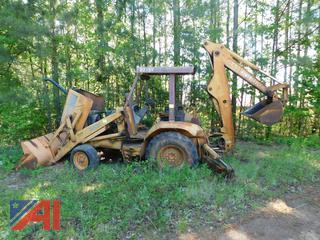Case 580k Backhoe (For Parts Only)