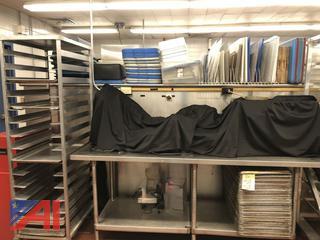 Rolling Rack & Full Size Sheet Pans