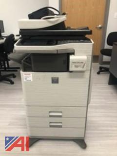 Sharp MX-B402SC Monochrome MFP Laser Printer Copier Scanner