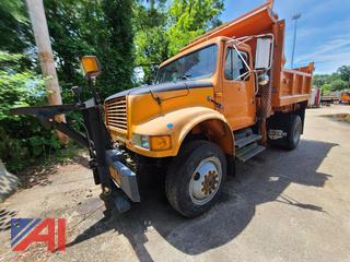 (#2) 1993 International 4800 Dump Truck