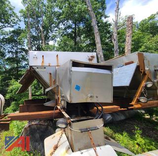 (#4) Stainless Steel Hydraulic Slide In Sander