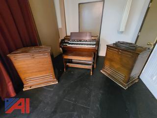(#9) Hammond C3 Organ and Leslie Organ Speakers