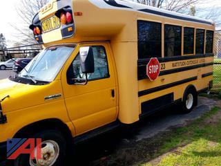 2011 Ford/Thomas E450 Mini School Bus with Wheelchair Lift