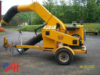 2005 ODB LCT600 Leaf Collector on Trailer