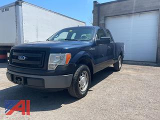 2013 Ford F150 Extended Cab Pickup Truck