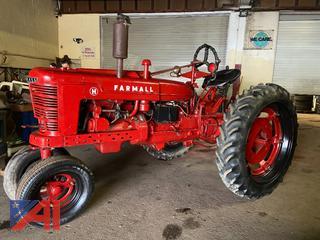 Farmall Model H Tractor