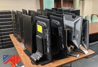 HP & Dell Computer Monitors