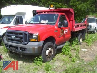 2006 Ford F350 XL Super Duty Dump Truck