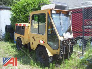 Trackless MT5T Sidewalk Tractor