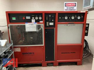 SCBA Air Compressor, Ingersoll-Rand Baron II - Cylinder Refill System