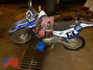 2002 Yamaha TTR90 Motorcycle