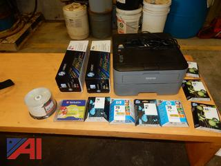 Brother Printer and Ink Cartridges