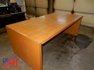 Laminated Wood Table