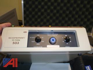 (#15) Mortex Scopeman MS-503 & Galaxy 2200 Video Center