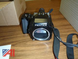 (#16) Pentax Camera & Accessories