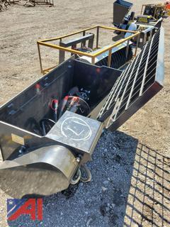 2021 Skid Steer Mower King Concrete Mixer