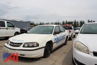 2004 Chevy Impala Sedan Emergency Vehicle