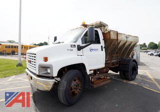 2007 GMC C7500 Salt Truck/T-134