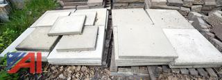 "Concrete Paver Blocks, 24"" x 24"""