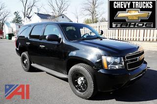 2012 Chevy Tahoe Suburban/Police Vehicle