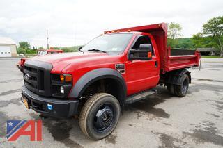 2008 Ford F550 XL Super Duty Dump Truck