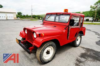 1955 Willy Army Jeep