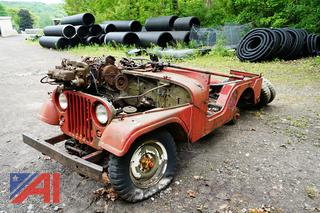 Vintage Jeep Willy Vehicle Parts