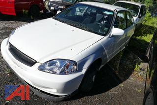 2000 Honda Civic DX 2 Door Hatchback