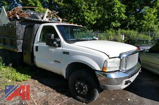 2003 Ford F550 Dump Truck