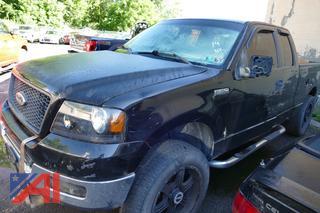 2005 Ford F150 Crew Cab Pickup Truck