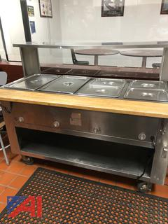 4-Well Steam Table