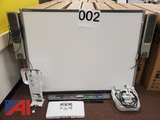 Smart Board and Epson Projector