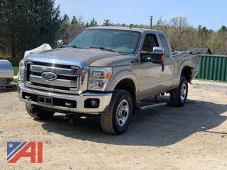 2011 Ford F250 Super Duty Extended Cab Pickup Truck
