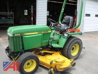 """John Deere 855 72"""" Tractor"""