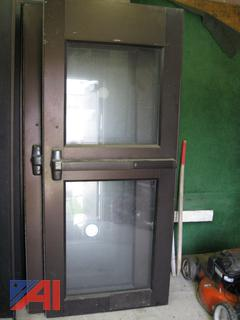 Steel Door-Split View
