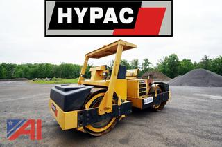 1999 Hypac C778B Double Drum Articulating Vibratory Roller