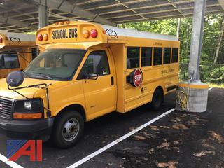 (#210) 2006 GMC Savana G3500 Mini School Bus