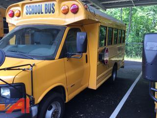 (#220) 2007 GMC Savana G3500 Mini School Bus