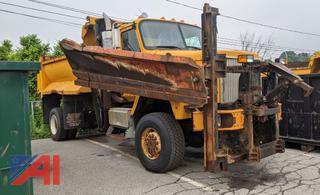 2003 International Paystar 5600i Spreader Truck & Plow