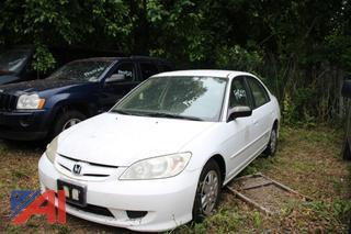 2005 Honda Civic GX Sedan